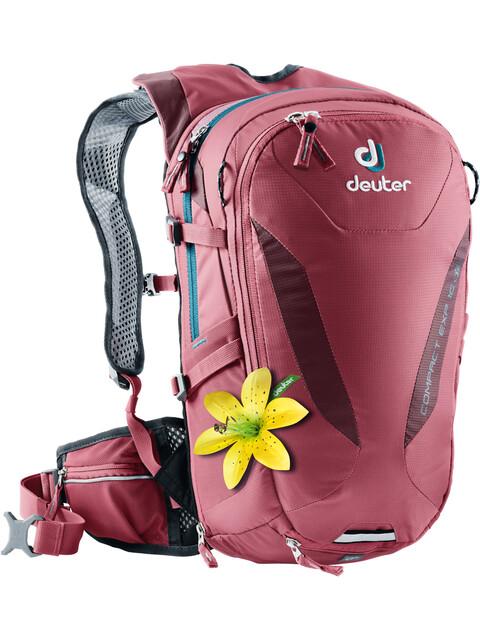 Deuter Compact EXP 10 SL Backpack Women cardinal-maron